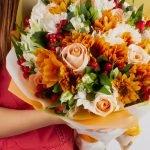 cómo hacer un ramo de flores