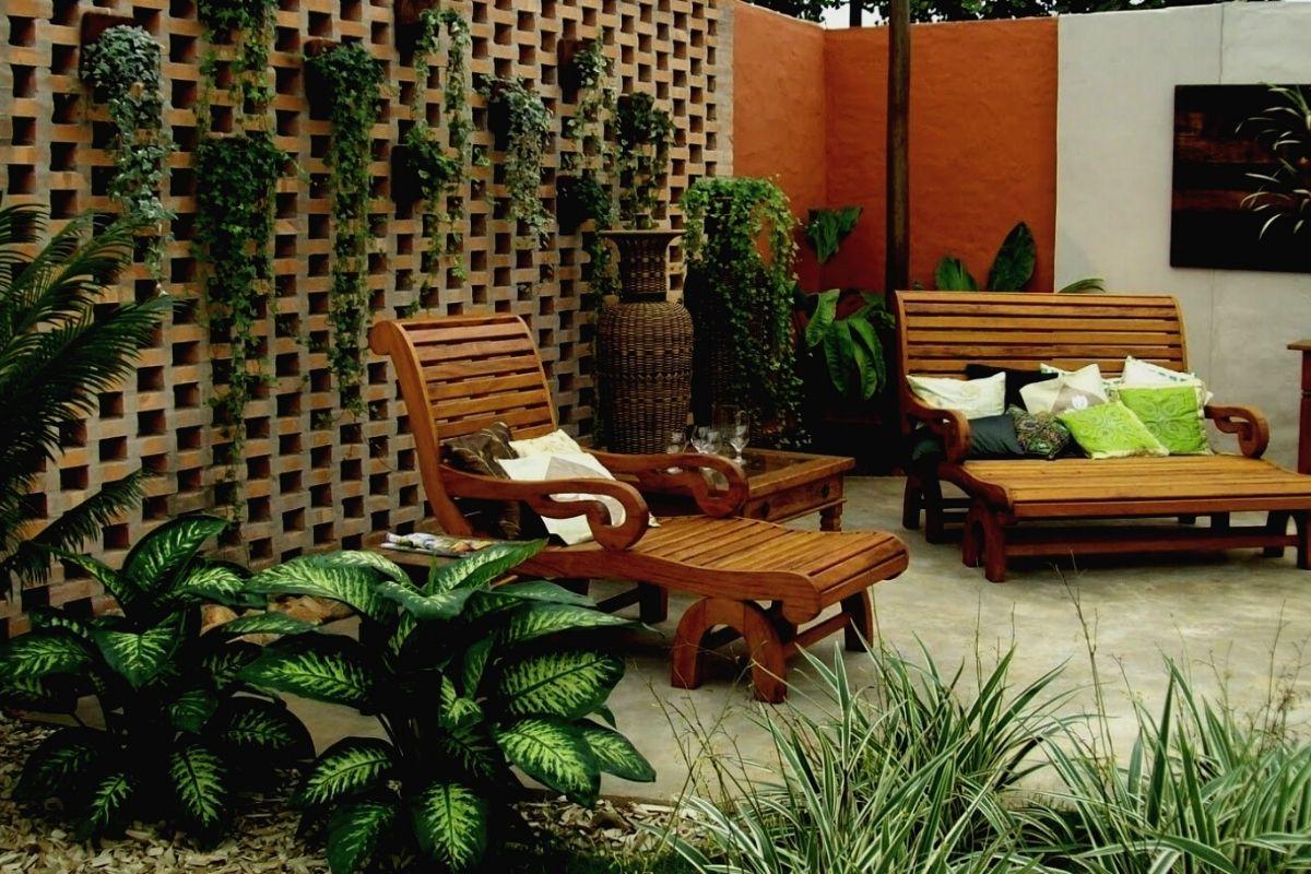 Formas de decorar un jardín exterior